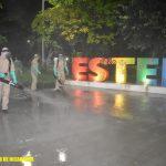 Ejército continúa desinfección contra la COVID-19 en Estelí