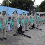 Desarrollo de jornada de desinfección contra la COVID-19 en Rivas y San Juan del Sur