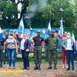 Recorrido de la antorcha de la libertad centroamericana